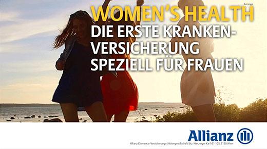 Allianz. Frauenversicherung