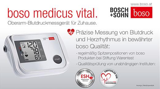 Bosch+Sohn. boso medicus vital