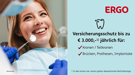 Ergo. Zahnersatzversicherung